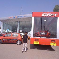 car on wheel 2