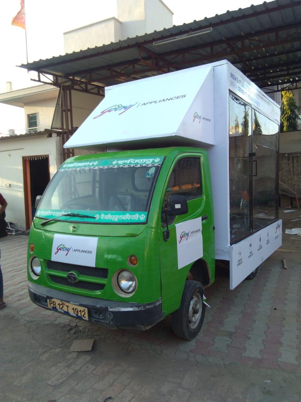 Led Van Show in Chandigarh